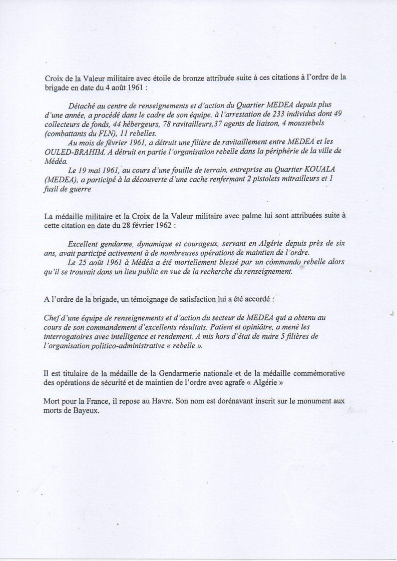HOMMAGE A UN GENDARME NORMAND, le 21 novembre 2014 à BAYEUX Img25310