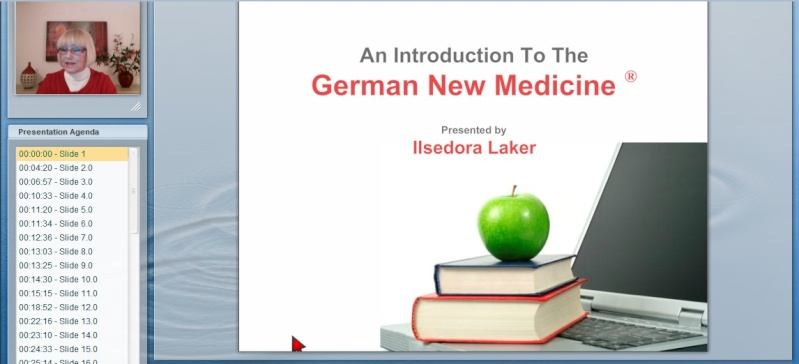 Ilsedora Laker, Teacher of the German New Medicine 115