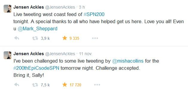 Le Twitter/FB/Insta de Jensen et Danneel - Page 2 Jen10
