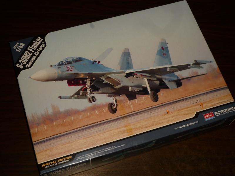 "Su-30 M2 ""Flanker"" (Academy) P1090316"