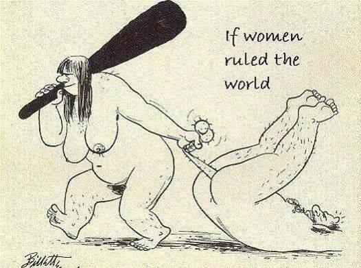 Stone age feminists... 10665810