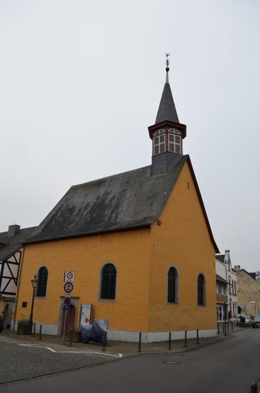 Oberkassel und die Kallboys - Die evangelische Kirche von Oberkassel Dsc_0110