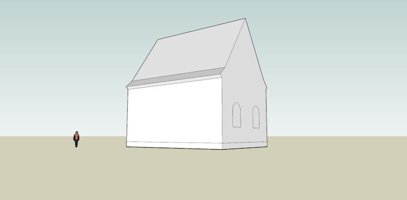 Oberkassel und die Kallboys - Die evangelische Kirche von Oberkassel Oberka10