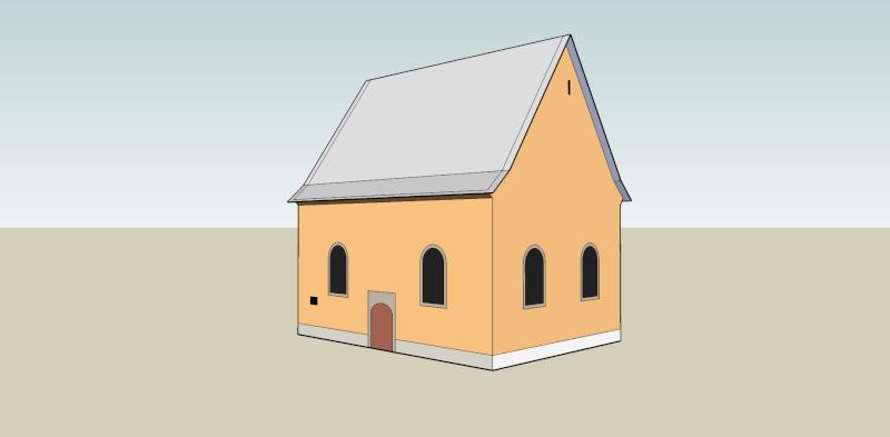 Oberkassel und die Kallboys - Die evangelische Kirche von Oberkassel Oberka11