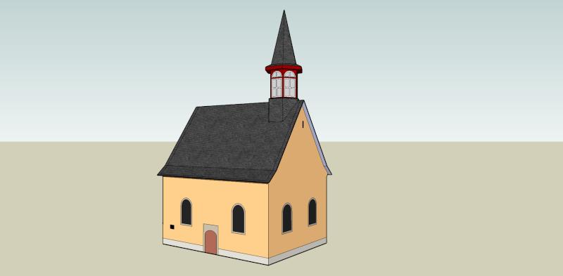 Oberkassel und die Kallboys - Die evangelische Kirche von Oberkassel Oberka13