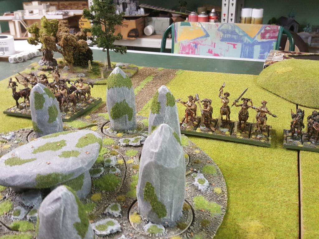Forces de la Nature vs Morts Vivants 411