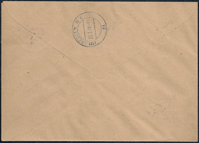 Deutsches Reich - Belege aus März 1946  1946-015