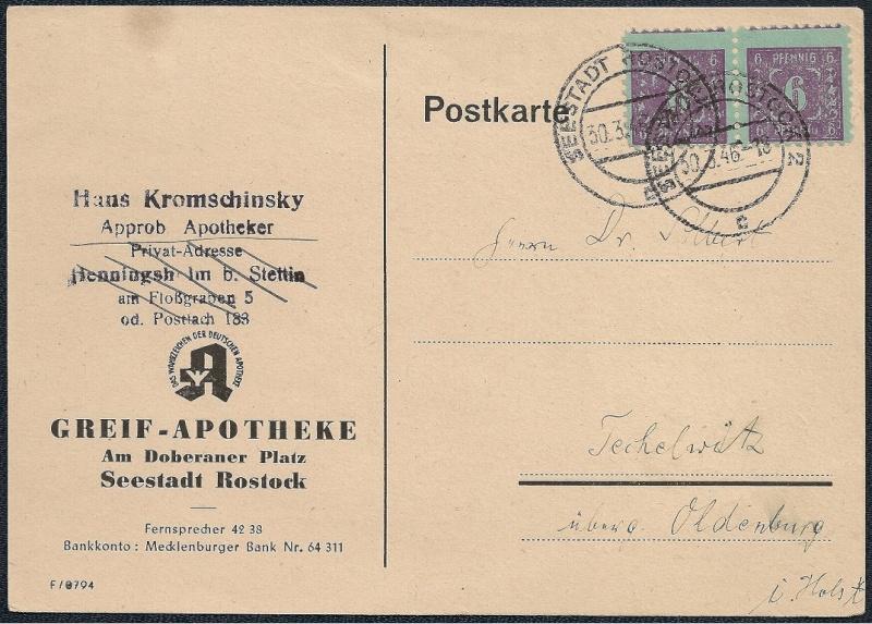 Deutsches Reich - Belege aus März 1946  - Seite 2 1946-022