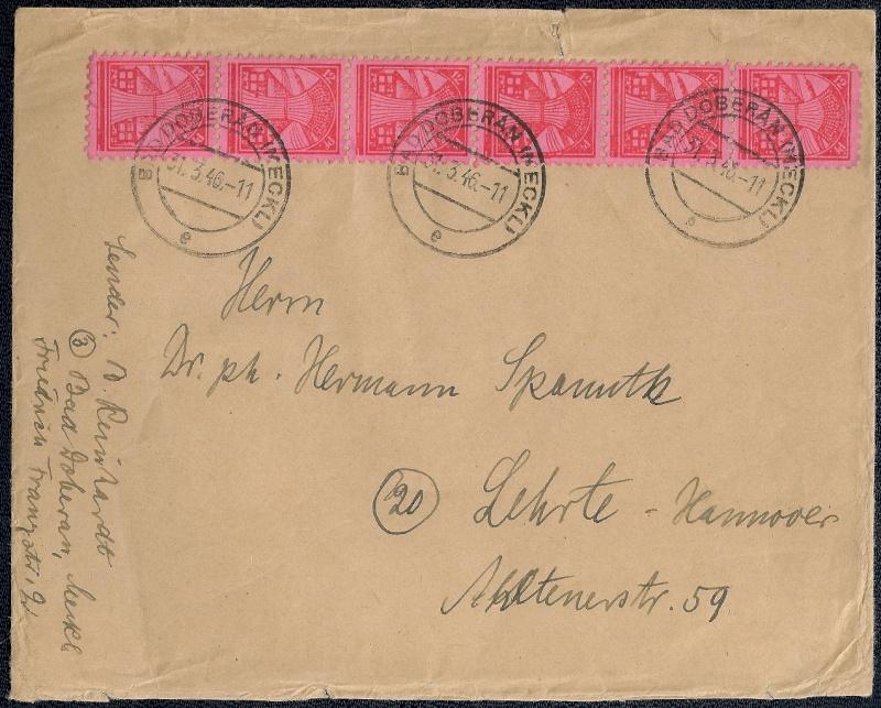 Deutsches Reich - Belege aus März 1946  - Seite 2 1946-024