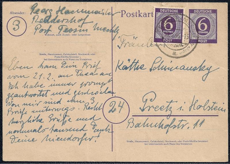 Deutsches Reich - Belege aus März 1946  - Seite 2 1946-026