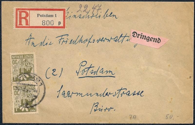 Deutsches Reich - Belege aus März 1946  - Seite 2 1946-028