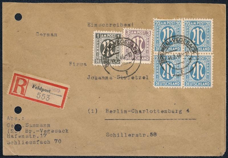 Deutsches Reich - Belege aus März 1946  - Seite 2 1946-032