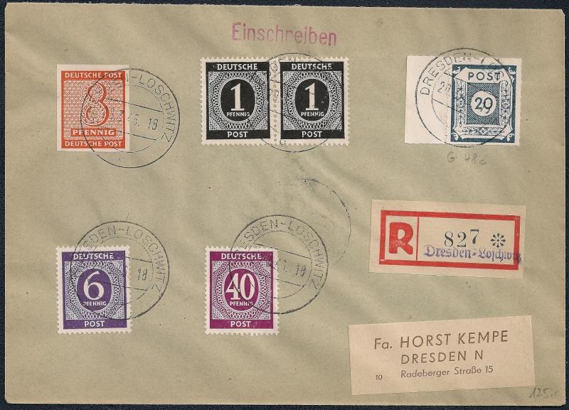 Deutsches Reich - Belege aus März 1946  - Seite 2 1946-034