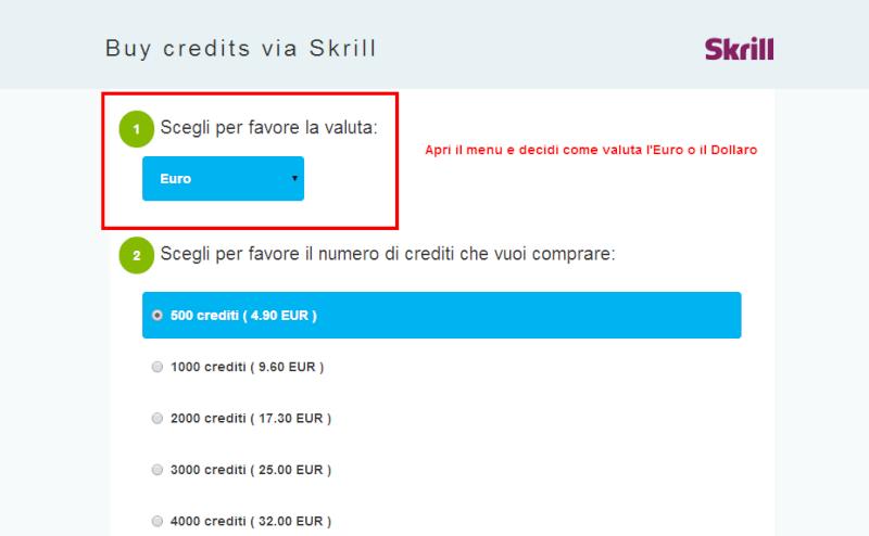 Nuovo metodo di pagamento: Skrill Payame11