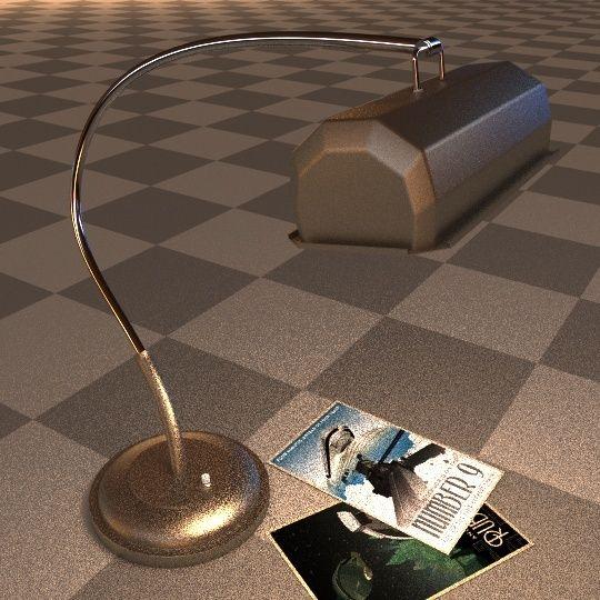 Création 3D : Bureau de Manny - Page 2 Lamp0210