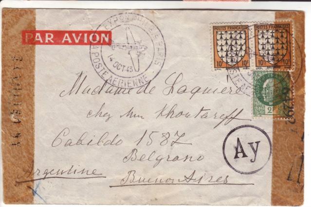 Qui connaît le Tarif postal de France vers le Mozambique en 1943 ?  1004510