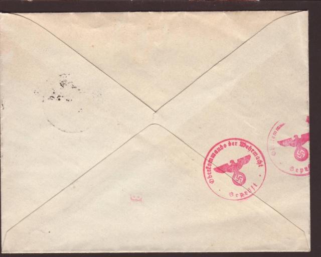 Papillons incérés dans les enveloppes sans contenu par l'ABP c. 4002010