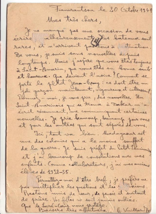Etiquette indiquant la marche à suivre pour les correspondances familliales entre le Reich et un pays ennemi.  5001510
