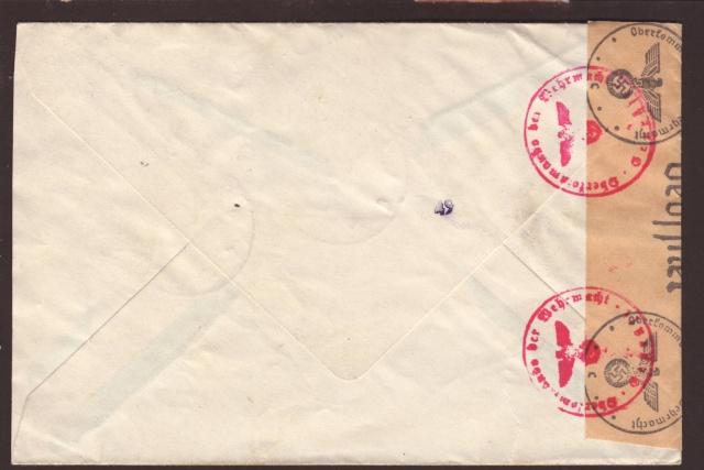 Papillons incérés dans les enveloppes sans contenu par l'ABP c. 7001310