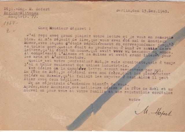 Papillon de retour pour lettres recommandées des travailleurs étrangers utilisé par erreur sur courrier civil 8001110
