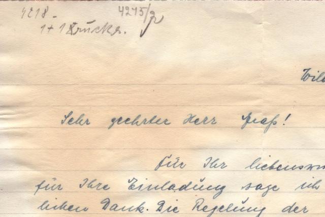 Papillon indiquant le prélèvement d'un contenu interdit par le décret des communication du 2.4.1940 9000510