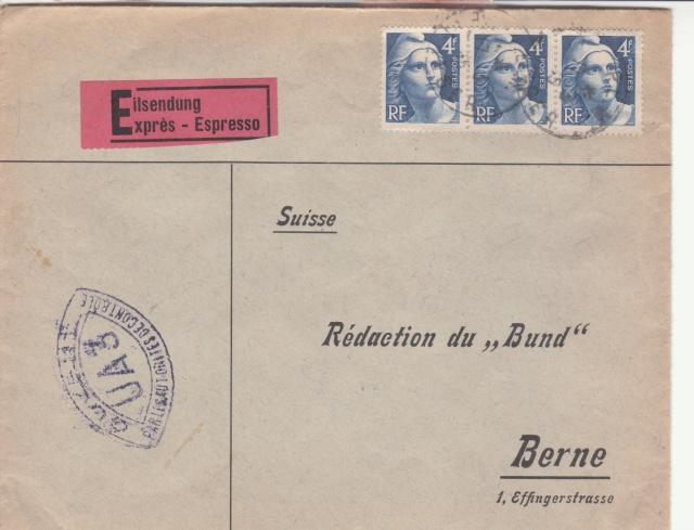 1945 - censure AZ130 contrôle de la presse _1001410