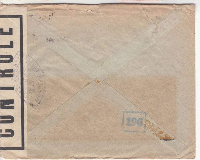 1944 une lettre contrôlée par la censure _3001810