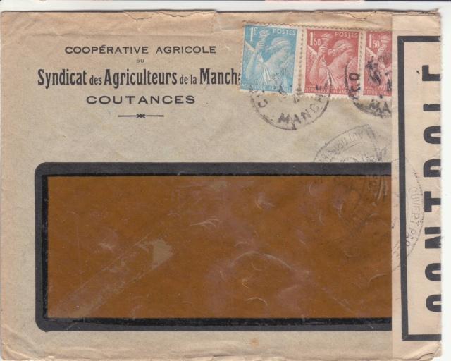 1944 une lettre contrôlée par la censure _4001910