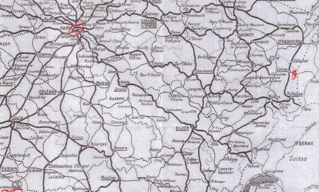 Drôle d'acheminen postal: lettre de Montmorillon (Vienne) pour Horbourg (Ht. Rhin) censurée à Metz Carte_10