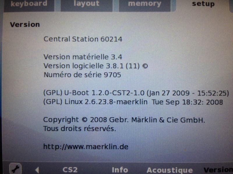 mise a jour 4.1.2 pour la CS 2 Img_1711