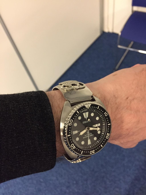 Nouveau Bracelet pour ma Seiko Turtle Img_5712