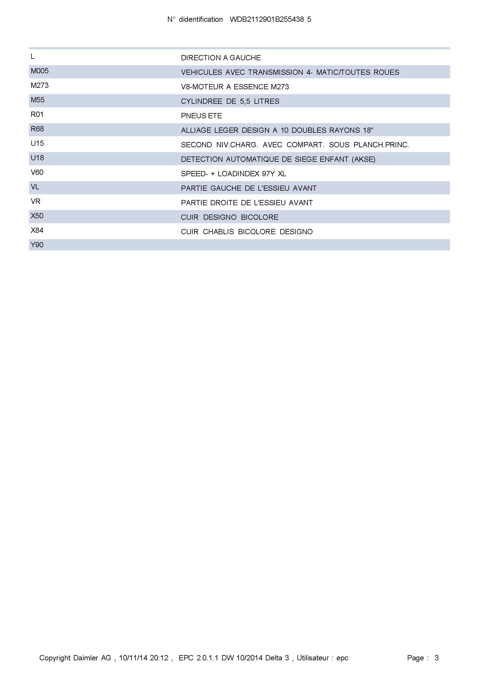 Annonce E500 Break Edition Carlsson 450CH Wdb21114