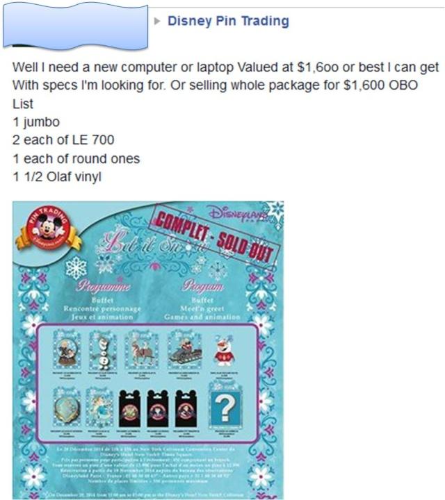 Le Pin Trading à Disneyland Paris Wtf10