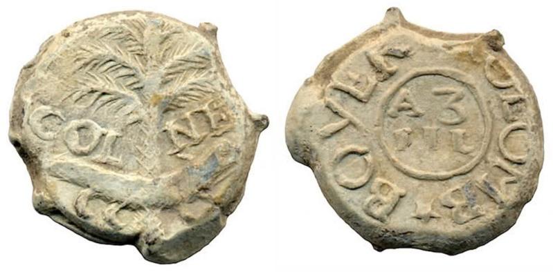 Les plombs de soyeux de Nîmes. Blog610