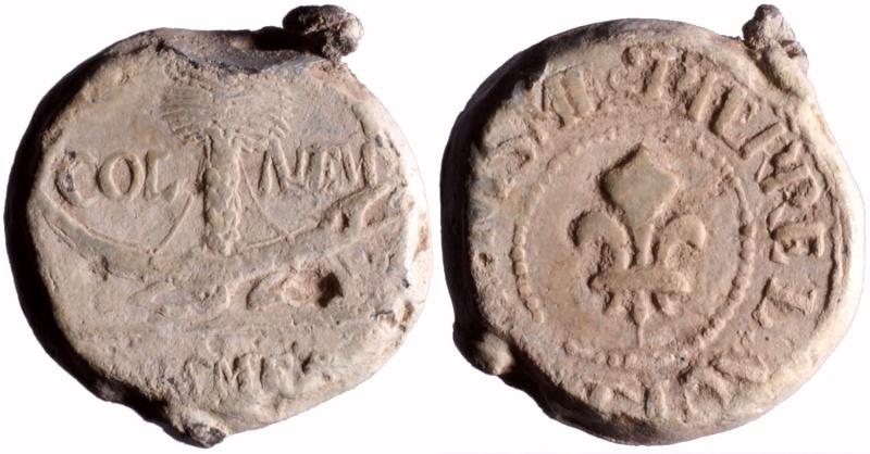 Les plombs de soyeux de Nîmes. D119310