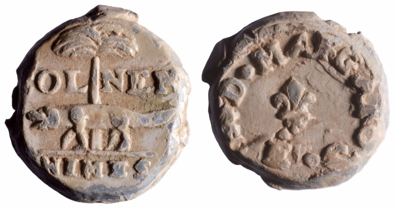 Les plombs de soyeux de Nîmes. D137610
