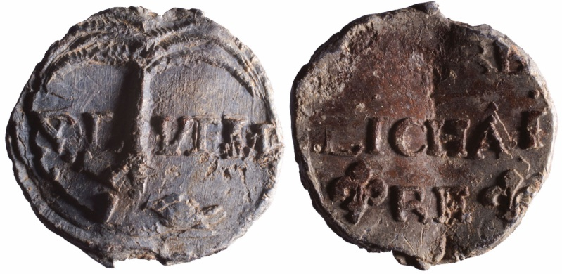 Les plombs de soyeux de Nîmes. D88610