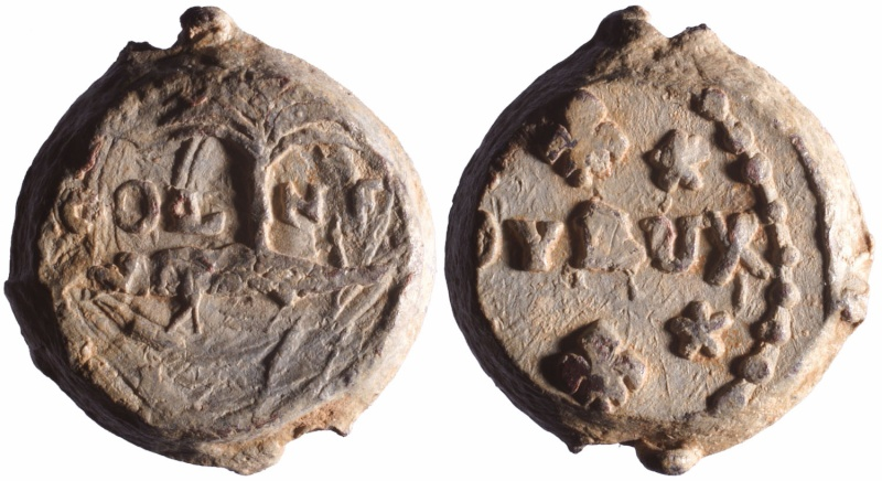 Les plombs de soyeux de Nîmes. D88910