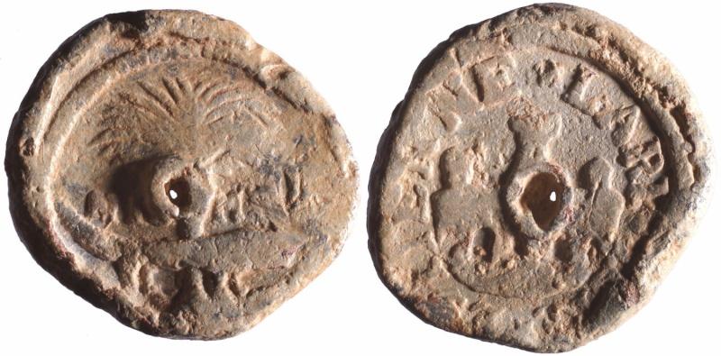 Les plombs de soyeux de Nîmes. D89010