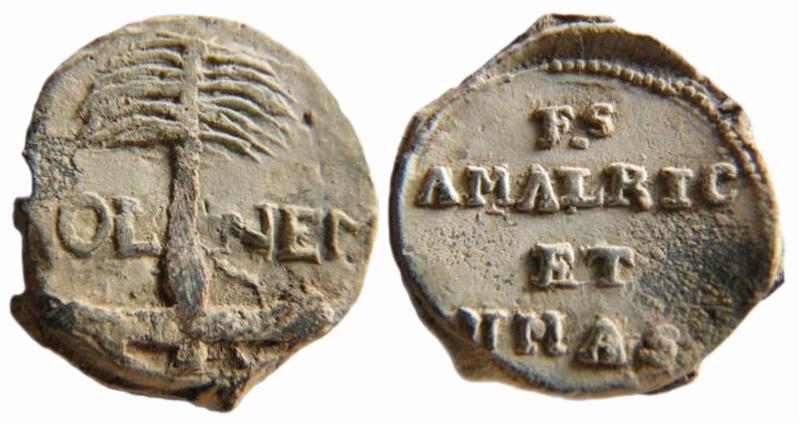 Les plombs de soyeux de Nîmes. For11310