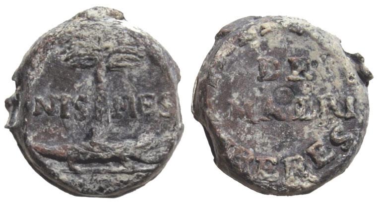 Les plombs de soyeux de Nîmes. For11411
