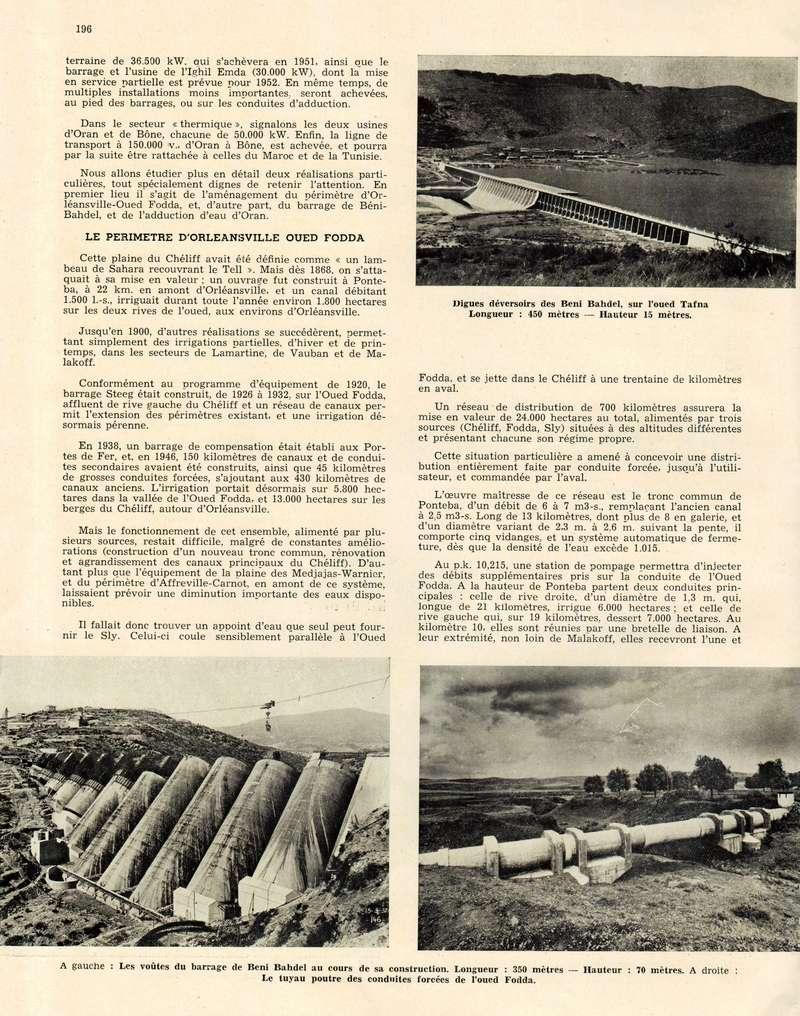 L'Hydraulique et l'Electricité au MAROC. - Page 9 12-19610