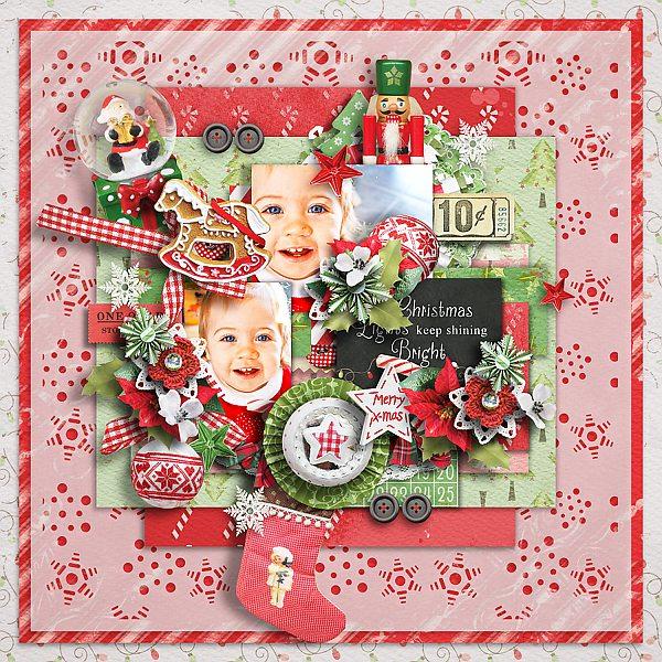 25 days of Christmas templates - Pickle Barrel 21. November Wendyp10