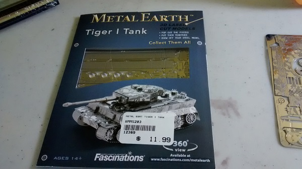 MetalEarth Tiger Tank Img_2010
