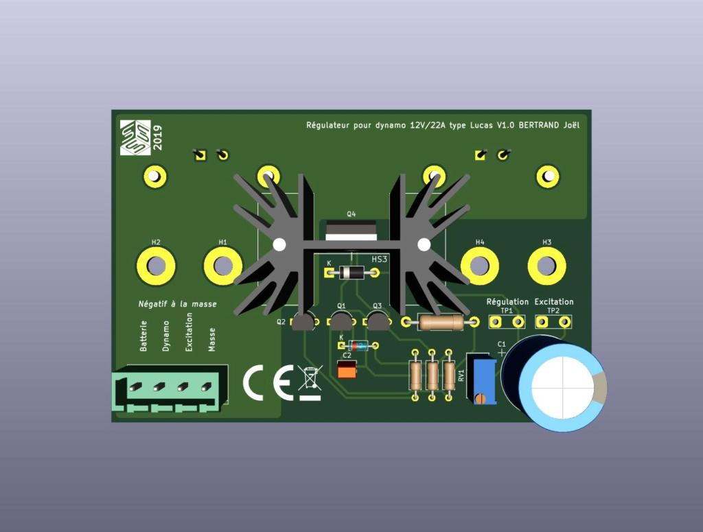 Régulateur électronique pour dynamo Regula10