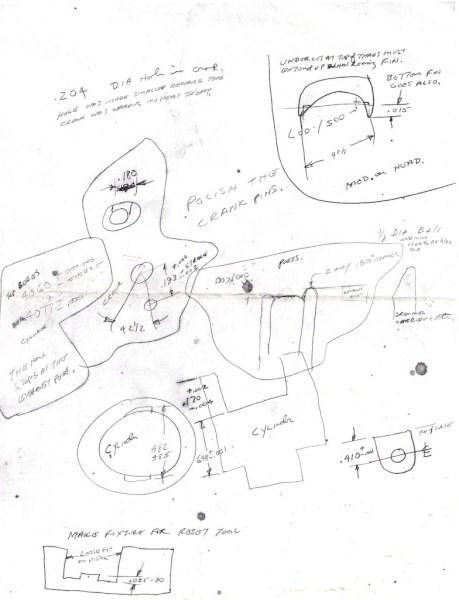 Dale Kirn rough drawing of Tee Dee info Faif2d11