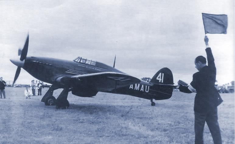 The Last of The Many - Hurricane Mk IIc G-amau10