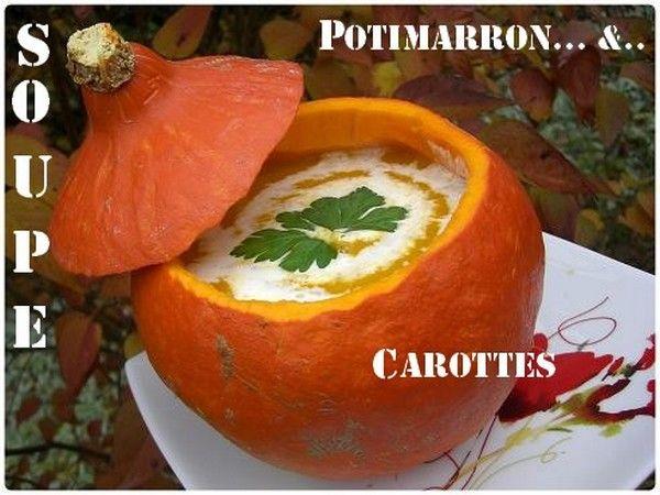 Velouté au potimarron et carottes  32762010