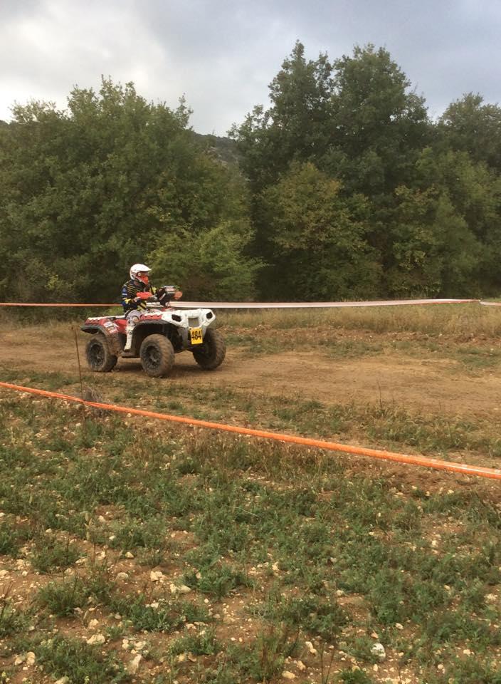Course Endurance quad, Mazan octobre 2014 Course22