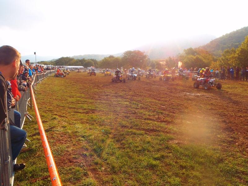 Course Endurance quad, Mazan octobre 2014 Course26